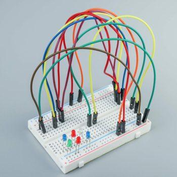 Scheda sperimentale Breadboard Circuit Board 400 Holes